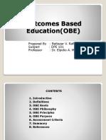 Outcomes Based EducationOBE REPORT