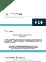 APF - La Empresa