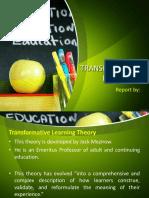 Transformative Report