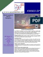 Brochure KW903 SP