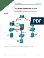 10.3.1.1 Lab C - Configure Clientless Remote Access SSL VPNs Using ASDM_Instructor