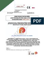 Ficha Tecnica Fire Tex 4 Con Certificacion