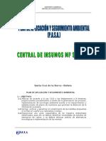 Pasa Central de Insumos Reformulados 2009