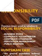 Social Responsibility and Good Governance