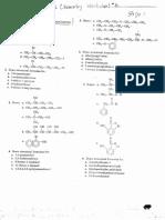 Organic Chemistry Worksheet 6