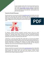 Menyembuhkan Penyakit Pneumonia Menggunakan Tanaman Herbal