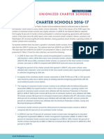 Unionized Charter Schools 2016-17