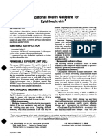 Occupational Health Guideline for ECH