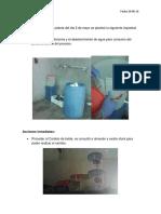 4. Informe de Puntos de Consumo de Agua Del Personal