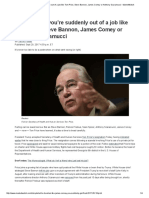What to do if you're suddenly out of a job like Tom Price, Steve Bannon, James Comey or Anthony Scaramucci - MarketWatch.pdf