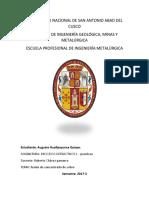 informe de fusion de cocnentrado.docx