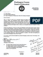 Roberts Suspension Letter