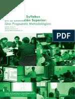 El Diseño de Syllabus en La Educación Superior, Oscar Jeréz y Otros
