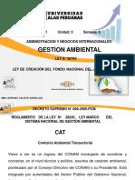 SEMANA 4 Ley N26793 Ley de Creacion Del Fondo Nacional Ambiental