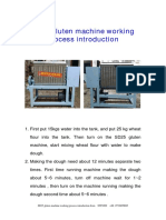 SD25 Gluten Machine Manual