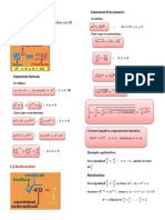 Exponentes y radicales - álgebra básica