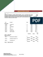 Analisis de Precio Unitario Espin