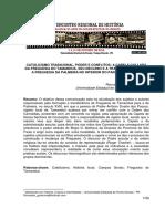 Ronualdo da Silva Gualiume-Catolicismo Tradicional,Poder e Conflitos:A Capela Collada da Freguesia do Tamanduá,Seu Declínio e a Transferência para a Freguesia da Palmeira no Interior do Paraná (1813-1837)