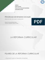 1. Reforma Curricular de Estudios Sociales