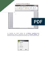 Interfaz de Microsoft Word