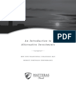 An Introduction to Alternative Investments