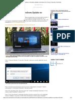 Como Desativar o Windows Update No Windows 10