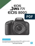 Eos Rebelt7i 800d Im Es