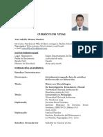 Curriculum Vitae de Adolfo 2016