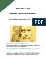 Carta de Leonardo Da Vinci a Ludovico