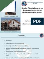 15 Nov - Tarde - 2da Expo - Diseño Directo Basado en Desplazamiento de Un Sistema Estructural Dual
