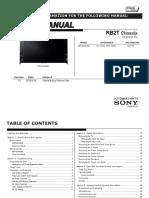 Sony Xbr-65x900b Rb2t Chassis Seg.hj Ver.1.0