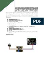 Sensor de Turbidez Sn0189