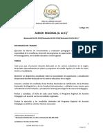 Asesor Regional (G. de E.)