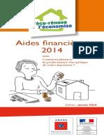 59-Guide Ademe Aides Financieres Habitat2014
