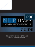 Demystifying the NLP Goal's and TOTE Framework