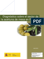 Análisis de la aceituna española
