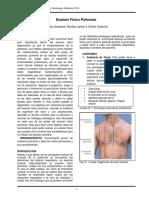 examen pulmonar