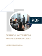 Desafios Matematicos La Segunda Charla