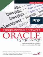 Pelikant a. - Programowanie Serwera Oracle 11g SQL i PLSQL