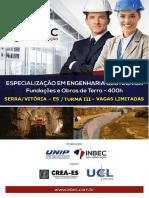 Esp. Em Engenharia Geotécnica - Turma 3 - Inbec Es