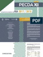 Emiten la XXII Convocatoria PECDA 2017-2018