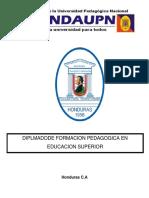 Universidad Metropolitana de Honduras Practica Docente