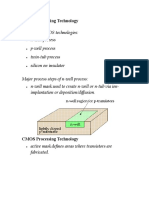 CMOS Processing Technology
