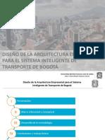Diseño de La Arquitectura Empresarial Para El Sistema
