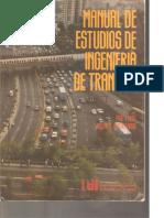 Manual de Estudios de Ingeniería de Tránsito