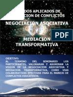 Métodos Aplicados de Resolución de Conflictos