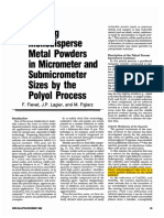 Fievet1989 Preparing Monodisperse Metal Powders in Micrometer and Submicrometer Sizes by the Polyol Process