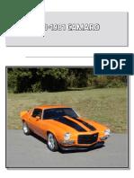 Chevy Parts Catalog Camaro 70 81