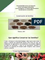 Taaller de Conservación de Semillaaa y Banco de Semilla