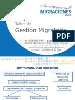 PPT Taller Gestión Migratoria 1 Septiembre 2016 (Red Del Sello Migrante)...